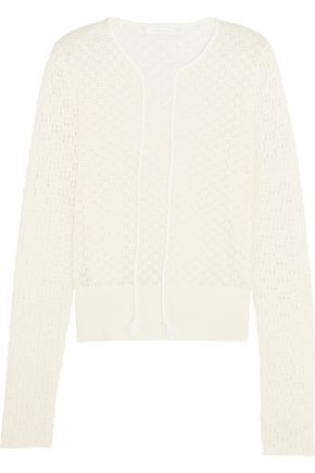 SEE BY CHLOÉ Crocheted cotton sweater