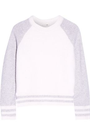 RAG & BONE Jana two-tone merino wool sweater