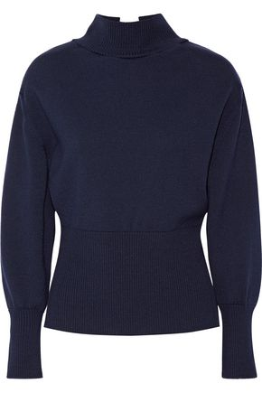 JACQUEMUS Tie-back wool turtleneck sweater