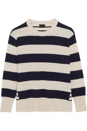 J.CREW Cheyne striped cashmere sweater