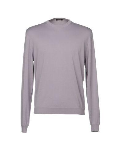 Фото - Мужской свитер  сиреневого цвета