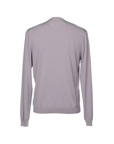 Фото 2 - Мужской свитер  сиреневого цвета
