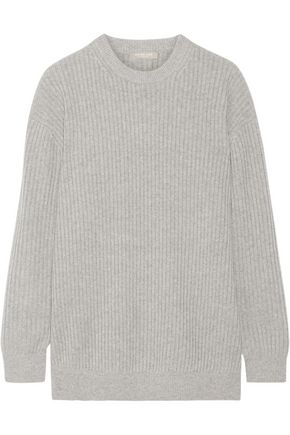 MICHAEL KORS COLLECTION Oversized ribbed cashmere sweater