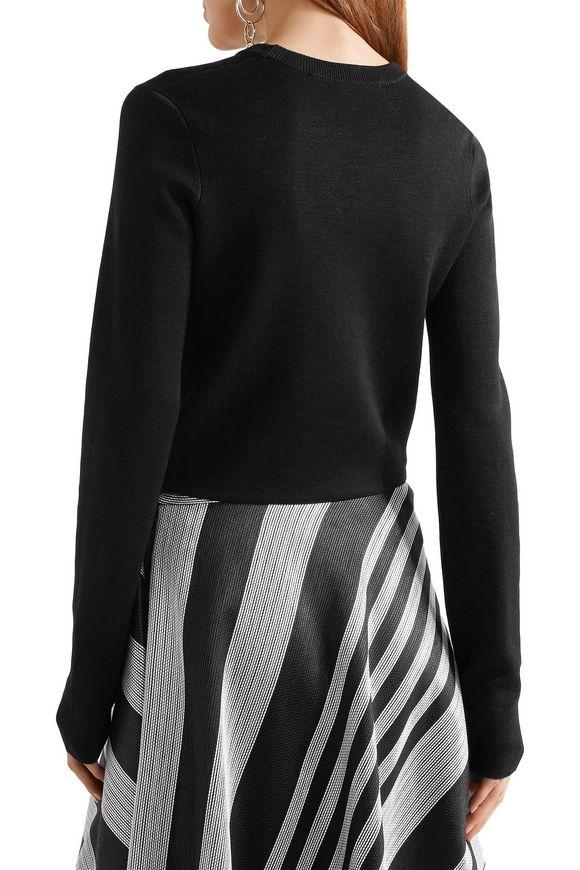 Cutout silk-blend sweater | PROENZA SCHOULER | Sale up to 70% off | THE  OUTNET