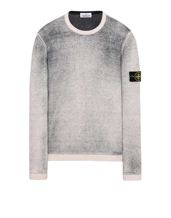 Sweater 544A8 REVERSIBLE KNIT STONE ISLAND - 0
