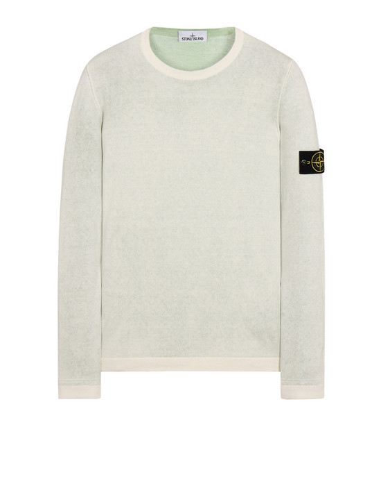 STONE ISLAND Sweater 544A8 REVERSIBLE KNIT