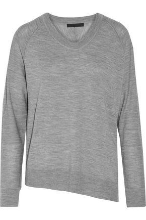 ALEXANDER WANG Asymmetric merino wool sweater