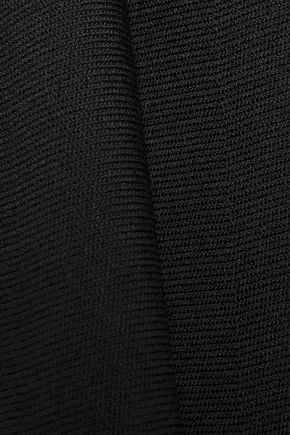 ALEXANDER WANG Fluted stretch-knit top