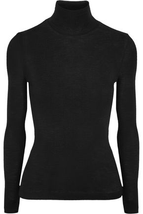 T by ALEXANDER WANG Ribbed wool turtleneck sweater