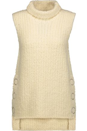 3.1 PHILLIP LIM Chenille wool-blend turtleneck tank
