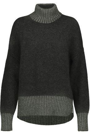 3.1 PHILLIP LIM Metallic boiled wool-blend turtleneck sweater