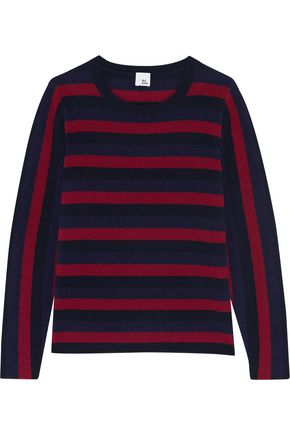 IRIS AND INK Bernadette striped cashmere sweater