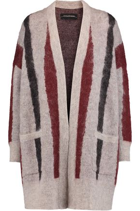 BY MALENE BIRGER Berbicia textured intarsia-knit cardigan