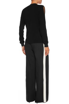 IRIS AND INK Mae cutout cashmere sweater