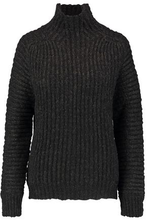 JUST CAVALLI Lace-up cable-knit sweater