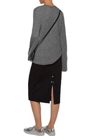 A.L.C. Graham ribbed merino wool-blend sweater