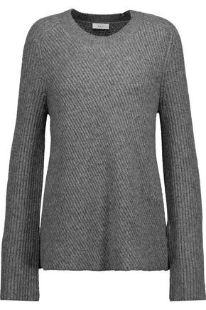A.L.C. Graham ribbed merino wool-blend sweater