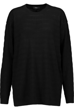 THEORY Hilson ribbed wool sweater