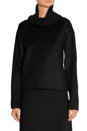 THEORY Gabouray cashmere and stretch-wool turtleneck sweater