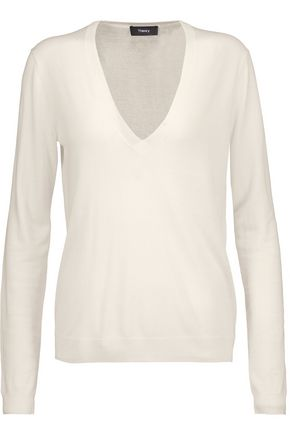 THEORY Yulia silk-blend sweater