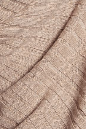 N.PEAL Ribbed cashmere cardigan