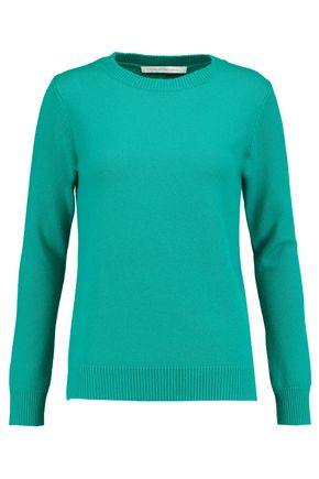 DIANE VON FURSTENBERG Chelsea merino wool and cashmere-blend sweater