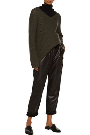 SIMON MILLER Luna open-knit wool sweater