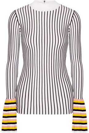 EMILIO PUCCI Striped  knitted top
