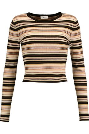 A.L.C. Rene striped merino wool-blend sweater