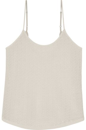 A.L.C. Paola pointelle-knit top