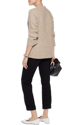 THEORY Bestella alpaca-blend sweater