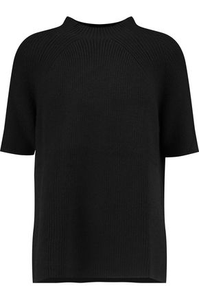 PRINGLE OF SCOTLAND Ribbed wool-blend top