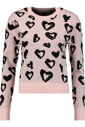 ÊTRE CÉCILE Intarsia-knit sweater