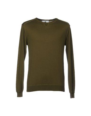 Фото - Мужской свитер MACCHIA J цвет зеленый-милитари