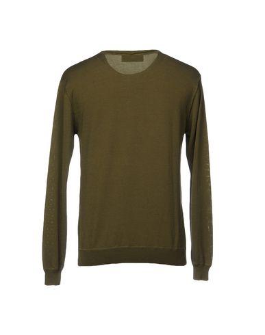 Фото 2 - Мужской свитер MACCHIA J цвет зеленый-милитари