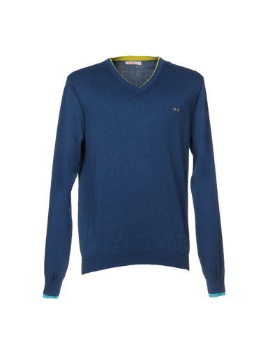 Фото - Мужской свитер SUN 68 синего цвета