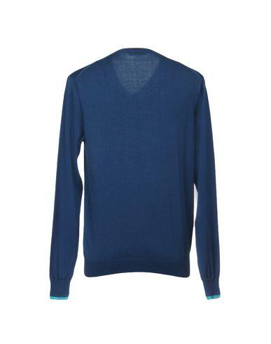 Фото 2 - Мужской свитер SUN 68 синего цвета