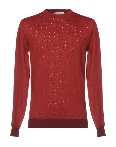 Фото - Мужской свитер  красно-коричневого цвета
