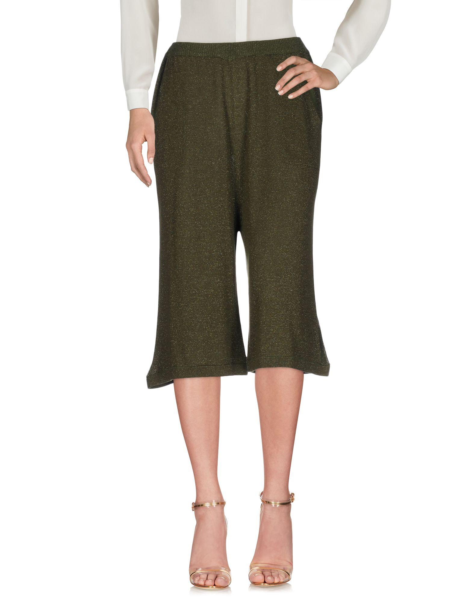 CHIARA BERTANI Брюки-капри три четверти брюки moda di chiara брюки широкие