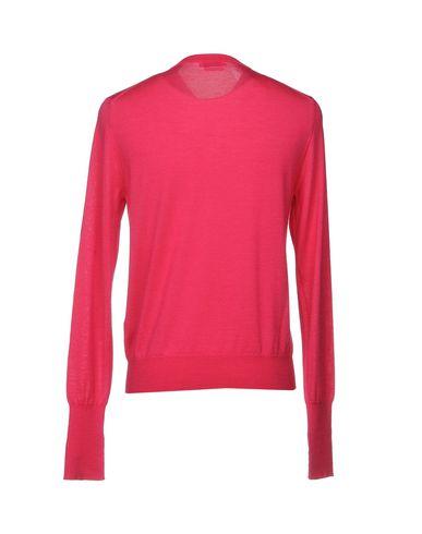 Фото 2 - Мужской свитер  цвета фуксия