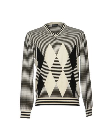 Фото - Мужской свитер  белого цвета