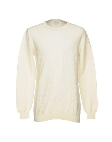 Фото - Мужской свитер  цвет слоновая кость