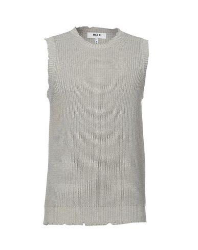 Фото - Мужской свитер MSGM серого цвета