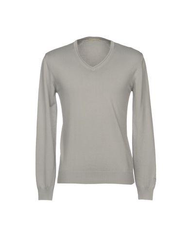 Фото - Мужской свитер  светло-серого цвета