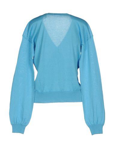 Фото 2 - Женский свитер  лазурного цвета