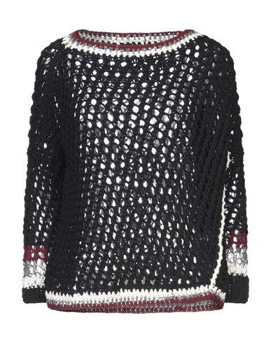 Фото - Женский свитер OF HANDMADE черного цвета