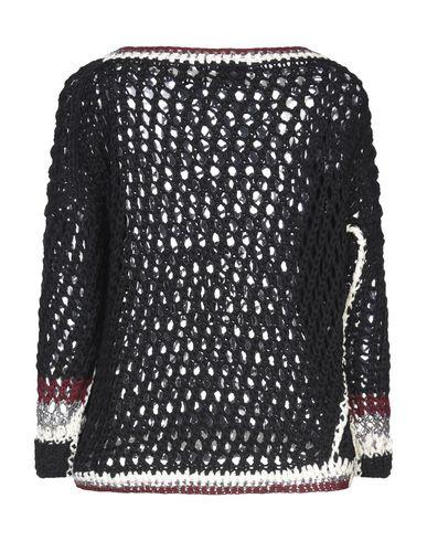 Фото 2 - Женский свитер OF HANDMADE черного цвета