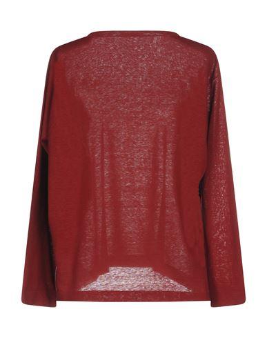 Фото 2 - Женский свитер  кирпично-красного цвета