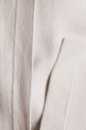 THEORY Palomina reversible wool-blend poncho