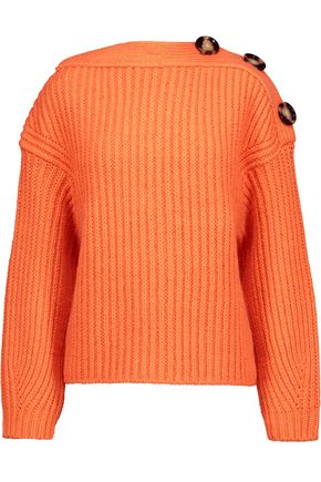 ACNE STUDIOS Holden cable-knit wool-blend sweater